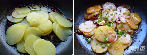 酸辣土豆片的简单做法