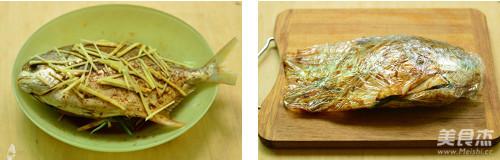 五香烤鲳鱼的家常做法