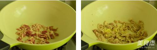 蒜苔小炒肉的家常做法