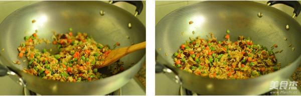 香菇炒饭的步骤