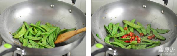 蒜香荷兰豆的家常做法