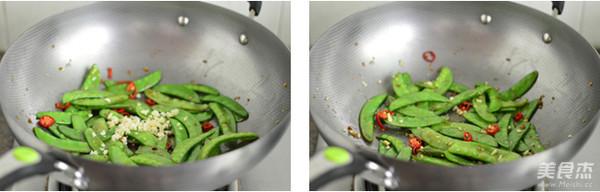 蒜香荷兰豆的简单做法