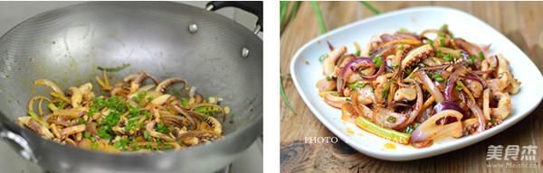 洋葱鱿鱼须怎么吃