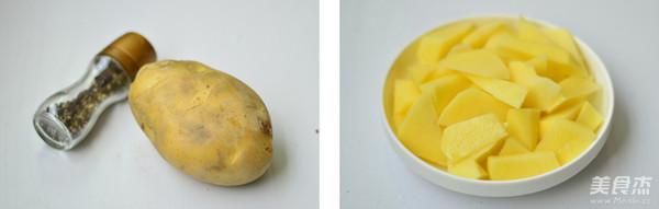 黑胡椒烤土豆的做法大全