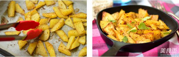 黑胡椒烤土豆的简单做法