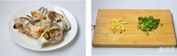 蟹粥的做法图解