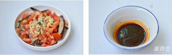 拌杏仁茄子的简单做法