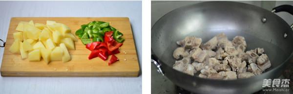 土豆烧排骨的做法图解