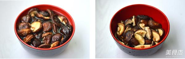 彩椒香菇鸡的家常做法