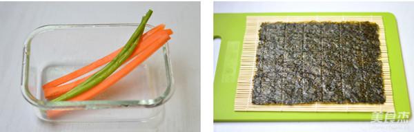 金枪鱼手卷寿司的做法图解