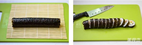 金枪鱼手卷寿司的简单做法