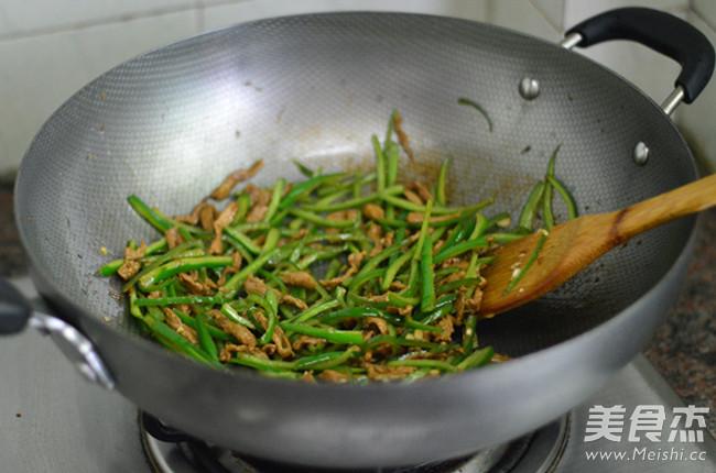 青椒肉丝怎么炒