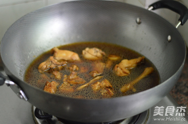 胡萝卜香菇炖鸡怎么炒