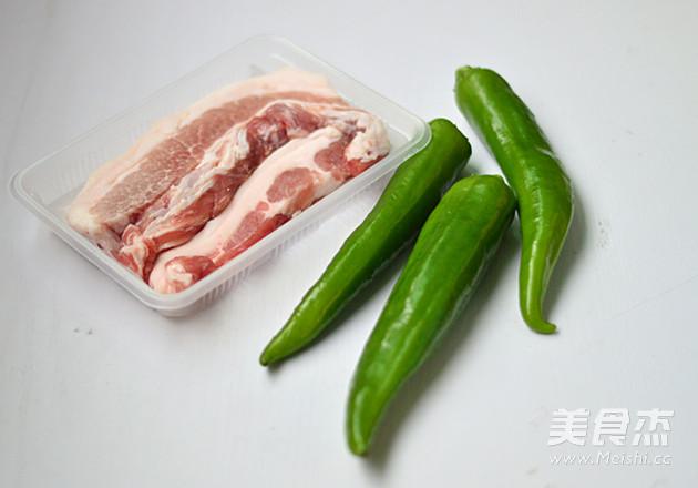 尖椒酿肉的做法大全