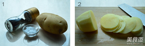 黑胡椒烤土豆片的做法大全