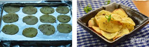黑胡椒烤土豆片的家常做法