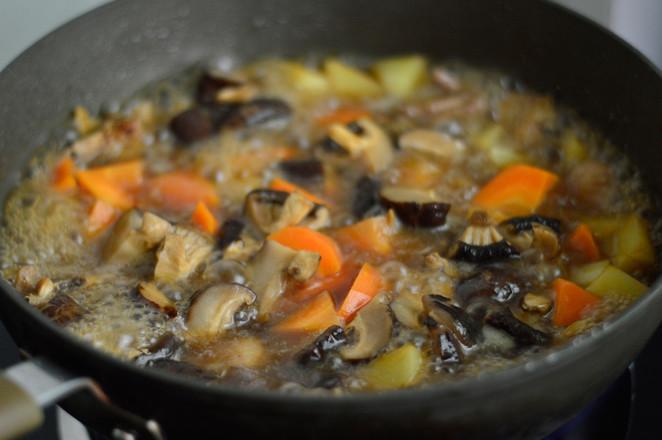 香菇焖鸡翅怎样做