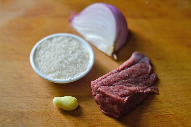 洋葱牛肉粥的做法大全