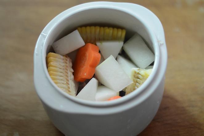 冬瓜玉米排骨汤(辅食)怎么吃