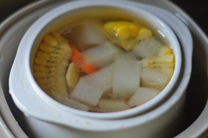 冬瓜玉米排骨汤(辅食)怎么炖