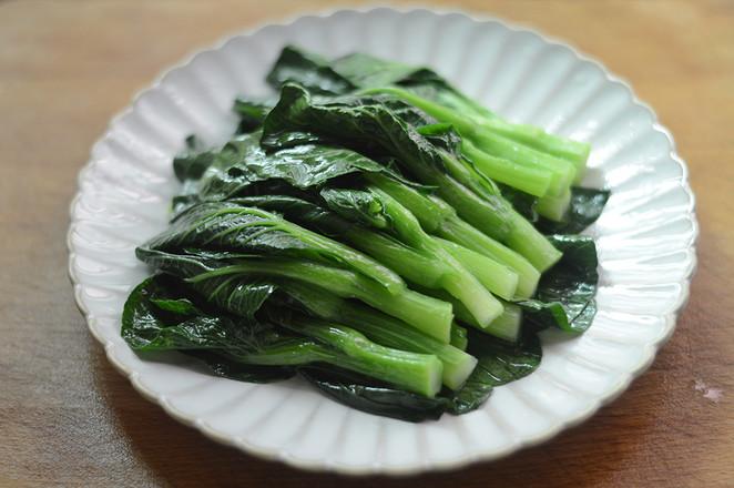 蒜蓉蚝油菜心怎么炒