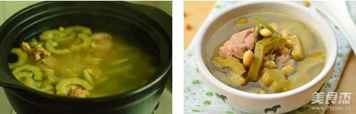 苦瓜黄豆猪骨汤的简单做法
