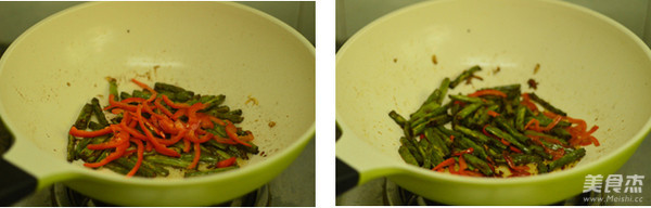 干煸芸豆的简单做法