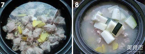 排骨冬瓜薏米汤的简单做法