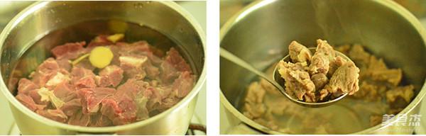 香辣土豆牛肉的家常做法