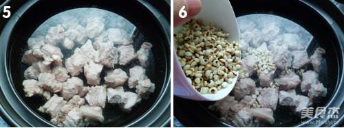 排骨冬瓜薏米汤的家常做法