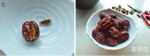 香甜糯米枣的家常做法