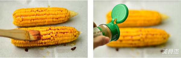 风味烤玉米的家常做法
