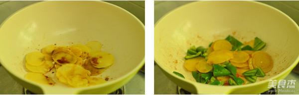 土豆片炒青椒的家常做法