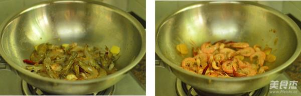 香辣基围虾的简单做法
