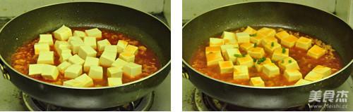 红烩肉末豆腐的简单做法