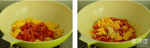 番茄鸡蛋的简单做法
