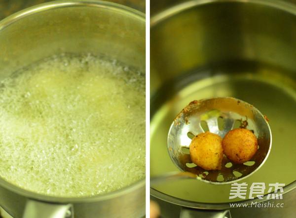 炸土豆丸子怎么吃