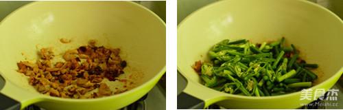 蒜苔小炒肉的简单做法