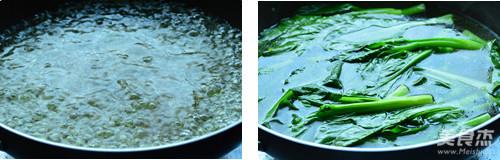 蚝油菜心的步骤
