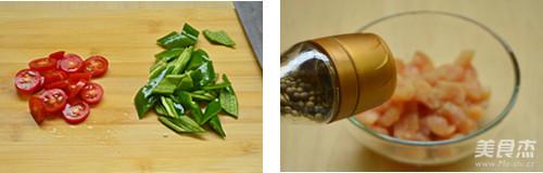 茄汁鸡丁拌面的做法图解