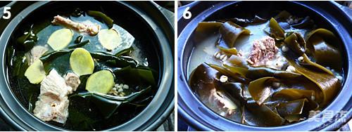 海带汤的家常做法