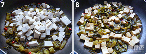 酸菜豆腐的简单做法