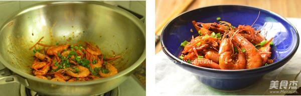 鱼香大虾怎么做