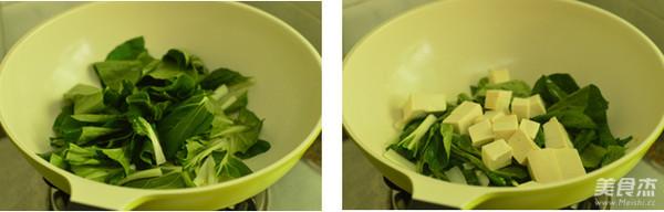 小白菜炖豆腐的家常做法