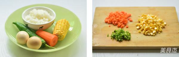 彩蔬米饭蛋饼的做法大全