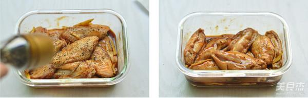 黑胡椒烤翅的家常做法
