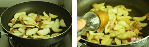 黑椒培根杏鲍菇的做法图解