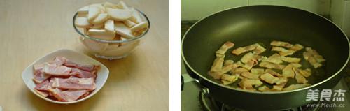 黑椒培根杏鲍菇的做法大全