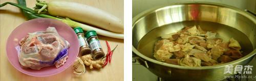 萝卜羊肉煲的做法大全