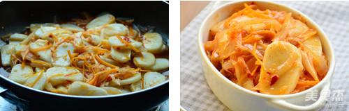 辣白菜炖年糕怎么吃